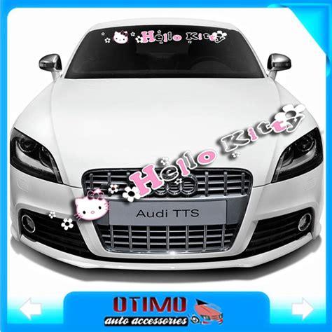 Aufkleber Fürs Auto Hello Kitty by Aliexpress 95 X 12cm Hallo Kitty Auto Zubeh 246 R