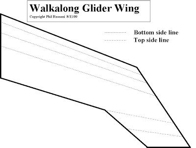 How To Make A Glider Out Of Paper - alpha romeo how to make a walkalong glider
