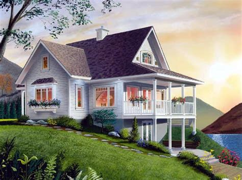 free home plans house plans sloped