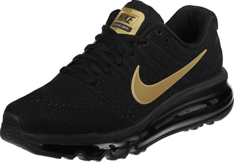 Nike Schuhe Schwarz by Nike Air Max 2017 Gs Shoes Black Gold