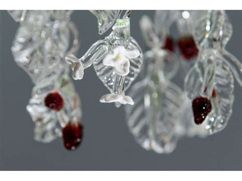 Handmade Glass Chandelier - blown glass chandeliers a with desire
