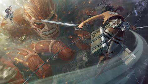 wallpaper anime hd attack on titan the fight begins wallpaper and background 1900x1086 id