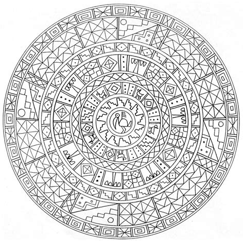 free mandala for adults coloring pages