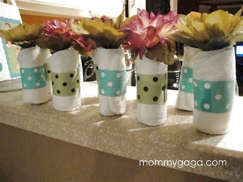 baby shower centerpiece ideas mini baby