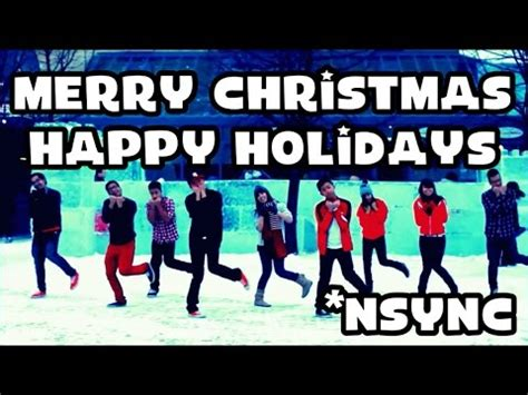 nsync merry christmas happy holidays choreography youtube