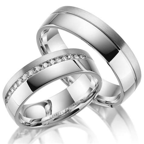Eheringe Preiswert by Juwelier Rubin Eheringe Silber 17 Swarovski Kristalle