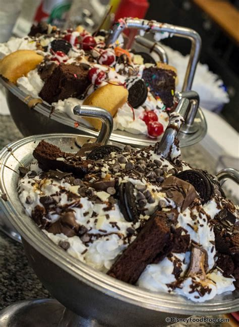 kitchen sink disney onthelist the kitchen sink sundae and chocolate