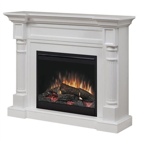 Dimplex Chelsea Corner Fireplace by Chateau Corner Electric Fireplace In White