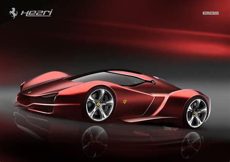 Ferrari Xezri Concept by Ferrari Xezri Concept Samir Sadıkhov Eskiz 231 Alışması
