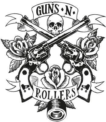 guns and roses coloring page guns n roses logo drawing sketch coloring page