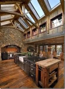 reclaimed wood rustic countertop ideas