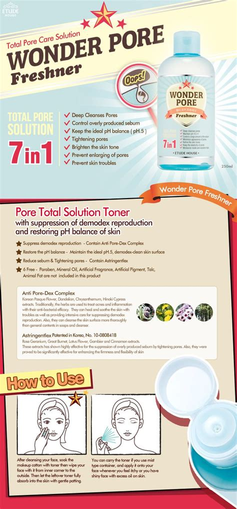 Etude House Pore Toner 22 best ideas about korean skin care makeup on