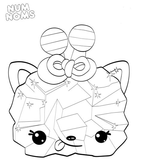 Coloring Page Num Noms by 20 Free Printable Num Noms Coloring Pages