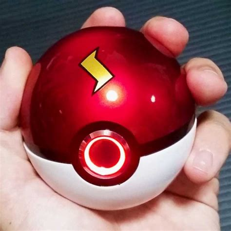 Light Up Pokeball by Realistic Light Up Pokeballs Shut Up And Take Yen