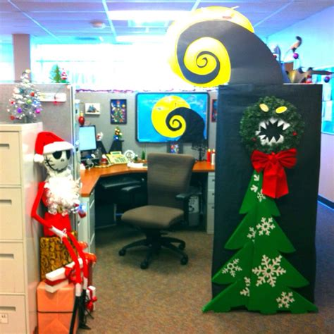 cubicle decorating contest my nightmare before decorate cubical contest skellington