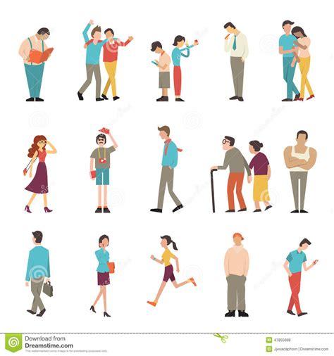imagenes de vidas extremas gente en diversas formas de vida ilustraci 243 n del vector