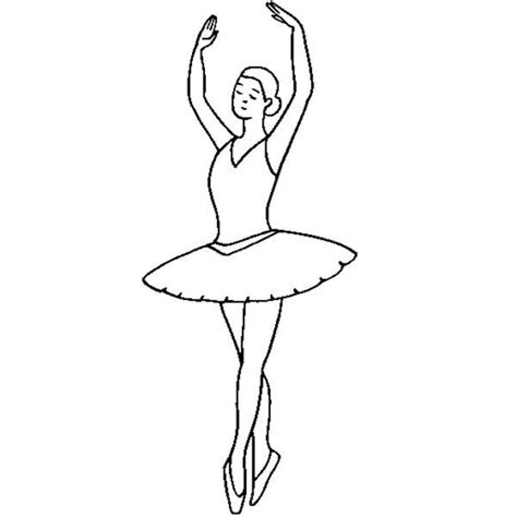 ballerina tutu coloring page ballerina doing ballet fifth position coloring pages