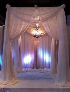draped chuppah adrienne moore the bloom of time on pinterest