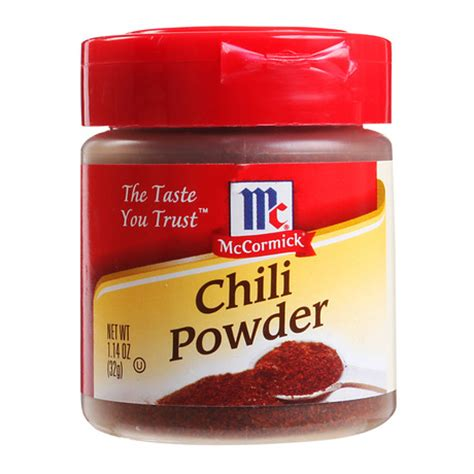 Mccormick Chili Powder Blend Mc Cormick Bumbu Bubuk Cabai Cabe mccormick chili powder 32g from redmart