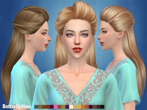 butterfly sims hair sims 4 butterflysims hair af 179 no hat by yoyo free at