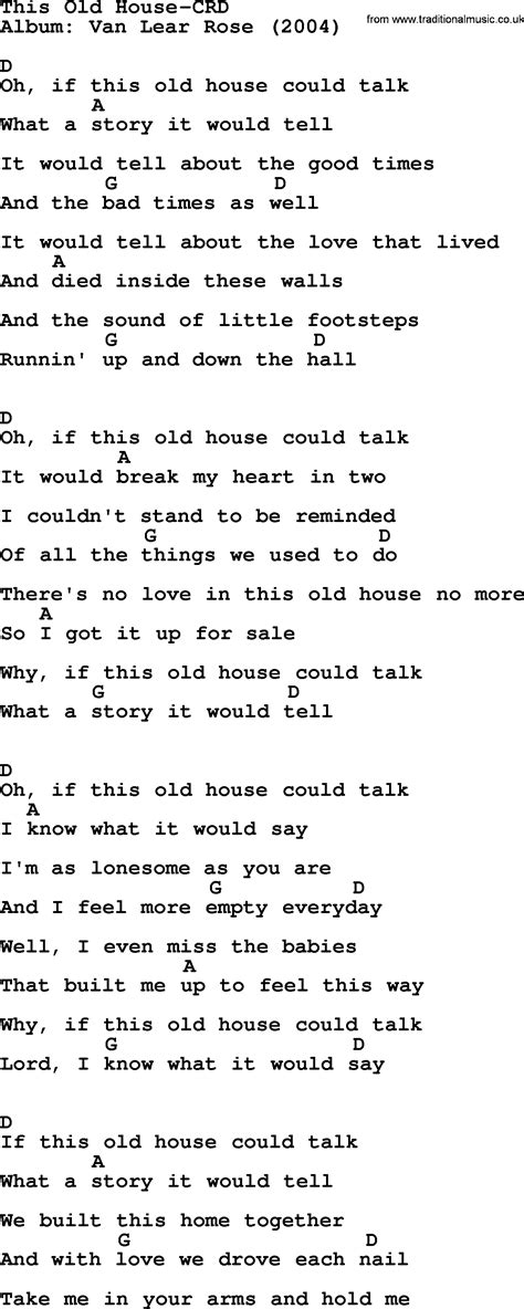 this old house music loretta lynn song this old house lyrics and chords