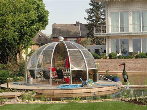 pavillon iglu luxus gartenpavillon rondo vg vk vp garten heinemann