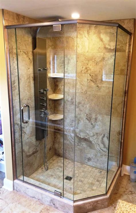 Custom Shower Glass Door Custom Shower Doors Enclosures M T Glass