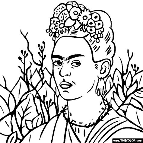 famous paintings coloring pages page 3