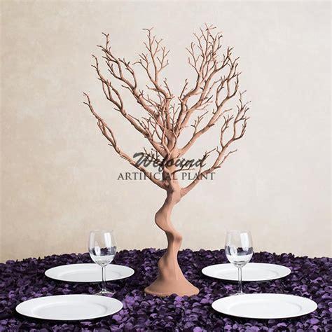 wholesale wefound gold manzanita tree centerpieces wedding