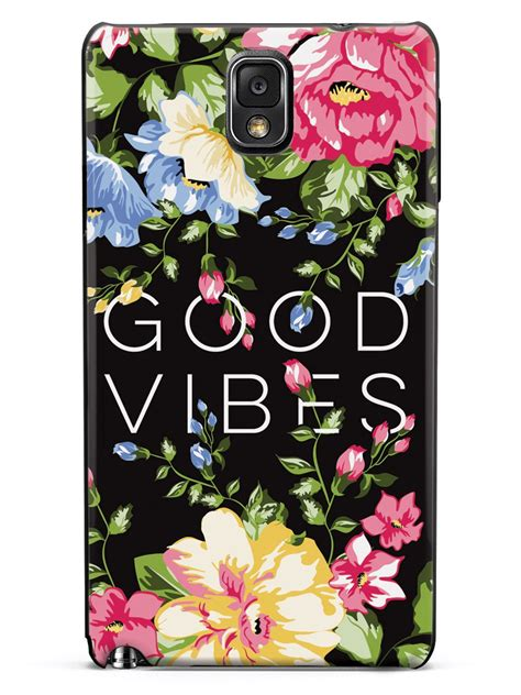 good vibes flower case inspiredcases