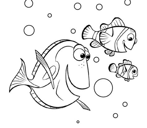 coloring pages nemo and dory 17 best images about coloring pages on pinterest finding