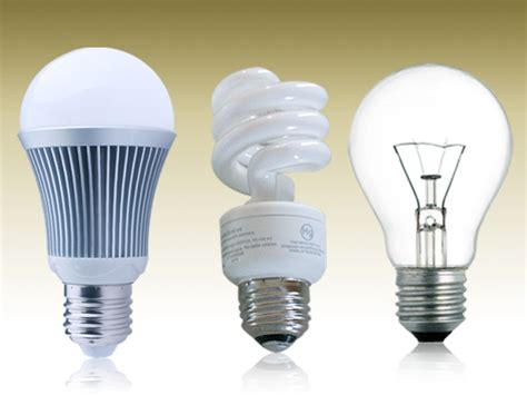 Image Gallery Incandescent Light Cfl Bulb Led Light Bulbs Vs Compact Fluorescent