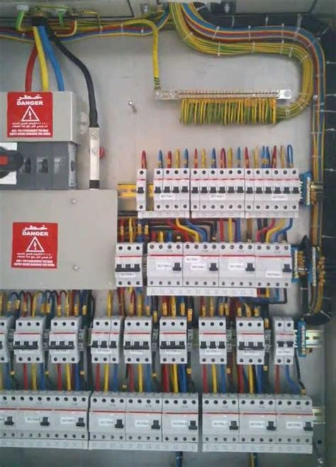 3 phase panel board wiring diagram three phase wiring