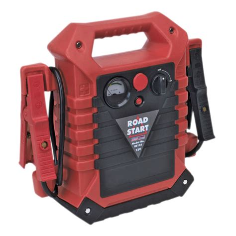 roadstart emergency power pack with air compressor 12v 900 peak s rapid