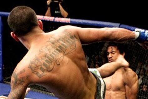 showtime tattoo which mma fighter has the worst mma