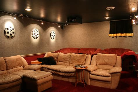 home theatre decoration ideas crea tu propia habitaci 243 n de cine chic