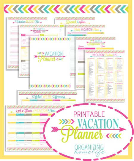 printable route planner printables to organize vacation wow someone who thinks
