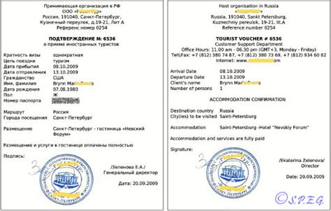 Confirmation Letter For Russian Visa Russian Visas And What Is Needed To Enter Russia