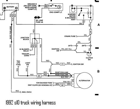 gm s10 alternator wiring diagram gm free engine image