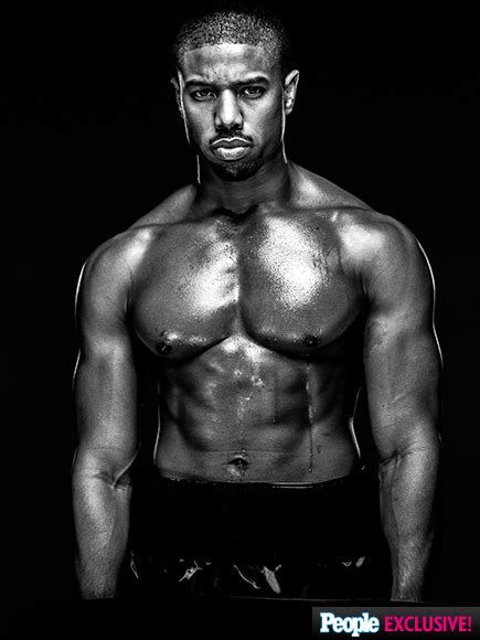 Sexy, Shirtless Michael B. Jordan on Creed and Why