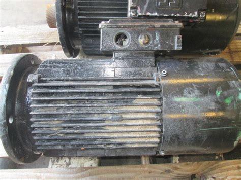 sew eurodrive dfvbnhr  hp electric motor    rpm