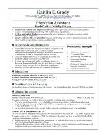 Surgical Physician Assistant Sle Resume by Resume For Physicians Assistants Sales Assistant Lewesmr