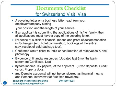 Invitation Letter Sle For Visa Switzerland Switzerland Visit Visa Sanctum Consulting