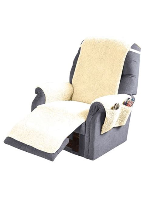 fleece recliner chair covers fleece recliner cover carolwrightgifts com