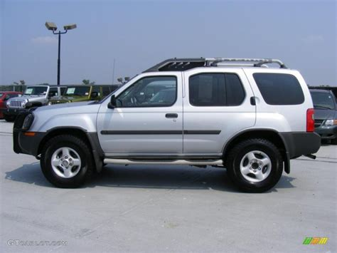 2002 silver metallic nissan xterra xe v6 4x4 32808500 photo 8 gtcarlot car color