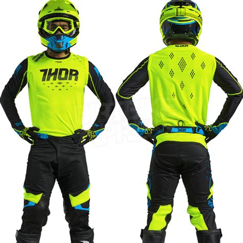 green motocross gear 2018 thor prime fit green black motocross gear grips bikes