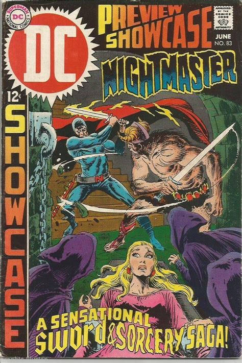 Showcase Gift Card 50 For 40 - showcase 83 wrightson dc comics nightmaster for sale item 1518102