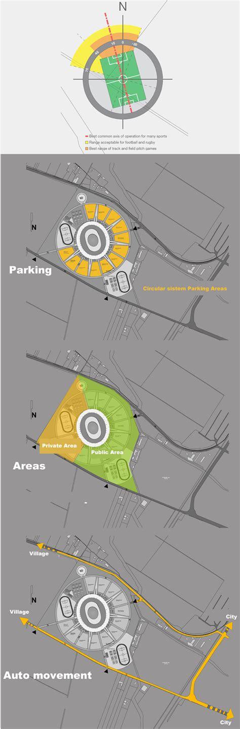 design concept diagram site plan architecture diagram stadium concept arch