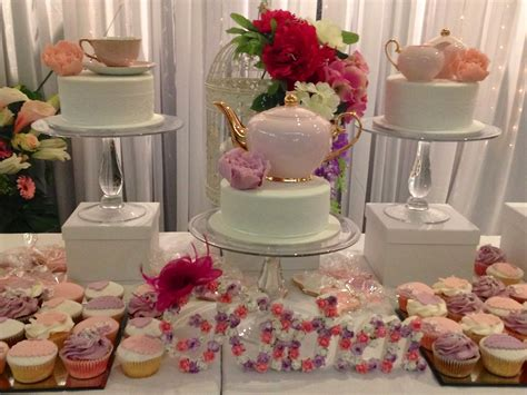 party ideas pretty in pink floral kitchen tea ideas