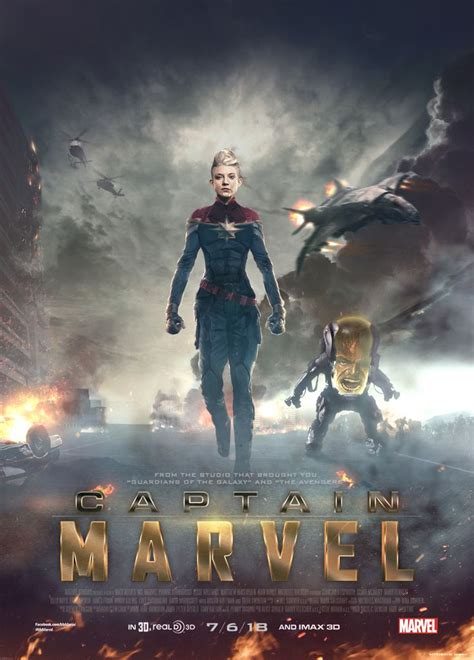 film kapten marvel captain marvel fan made movie poster http skinnyglasses